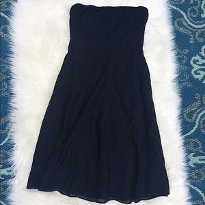 💖J.Crew💖Strapless Navy Dress SZ6